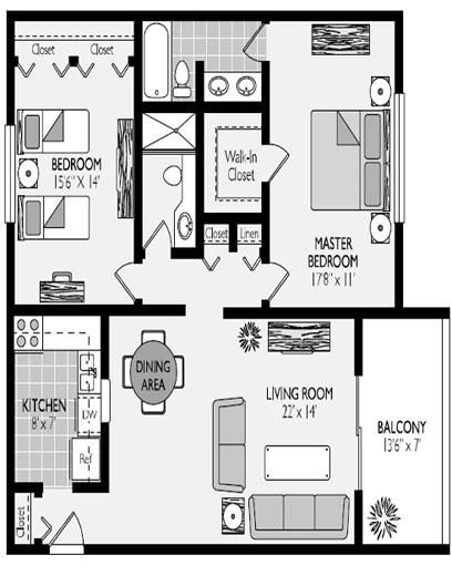 Pinehurst Model Floorplans