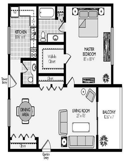 Turnberry Model Floor plans