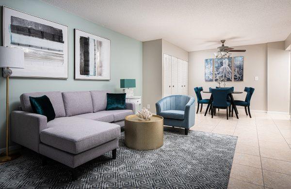 Model Apartment Living Area2