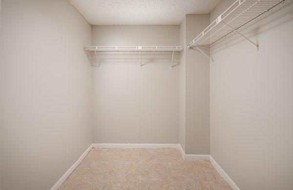 Model Apartment Closet