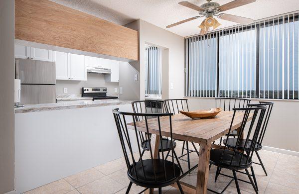 Model Apartment Dinette Kitchen Room