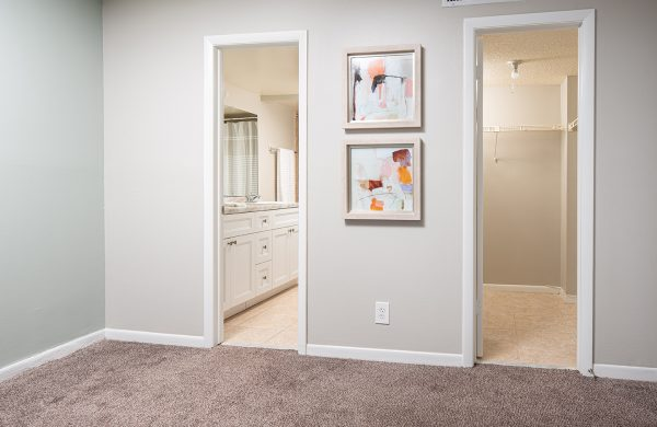Model Apartment Hallway