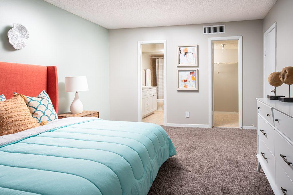 Model Apartment Bedroom