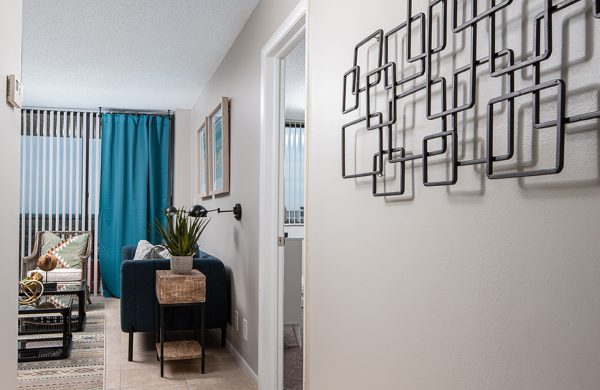 Model Apartment Living Room 2